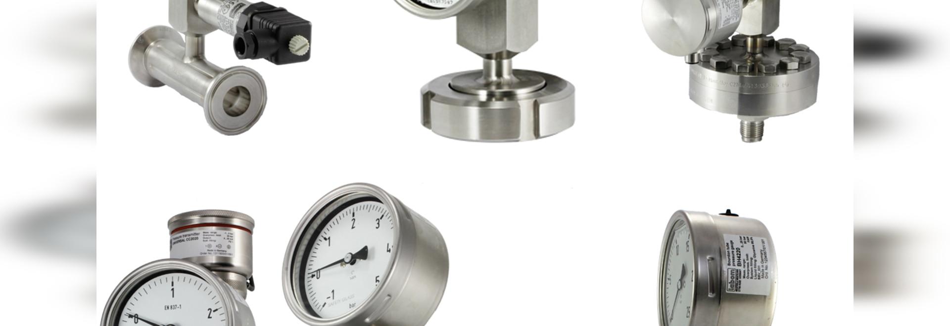 """Kombibar"" pressure measurement device"