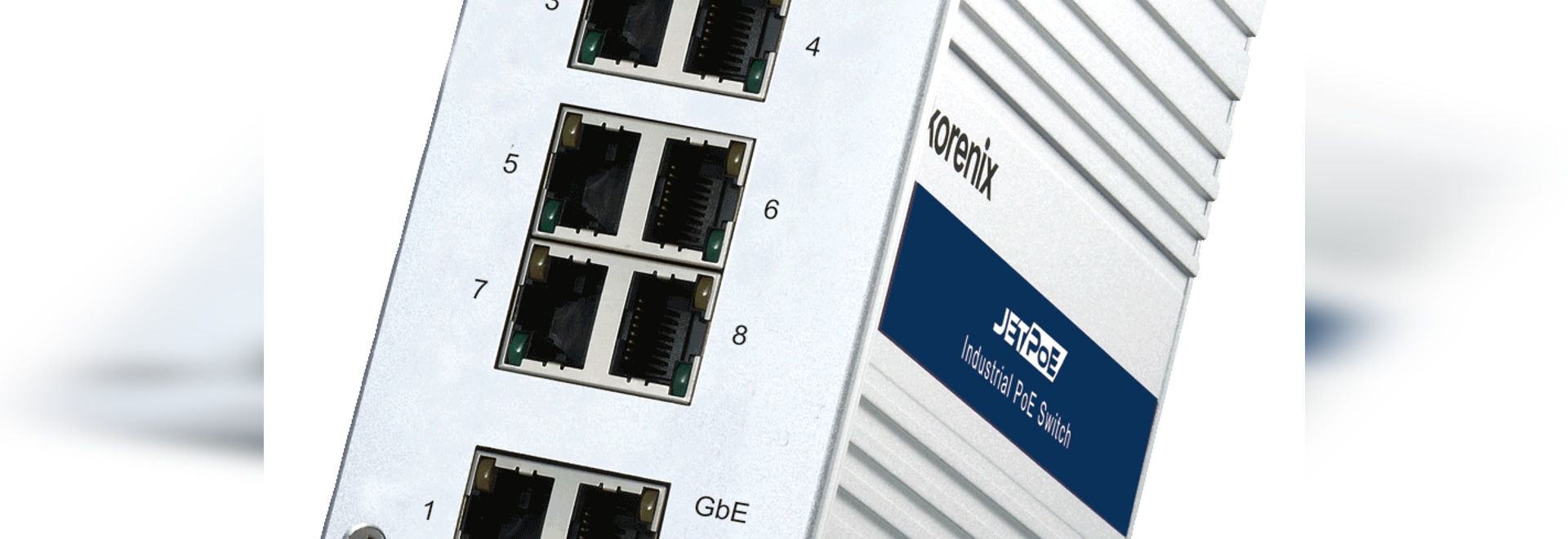 Korenix Launches New Industrial PoE Boost Switch for Transportation Surveillance