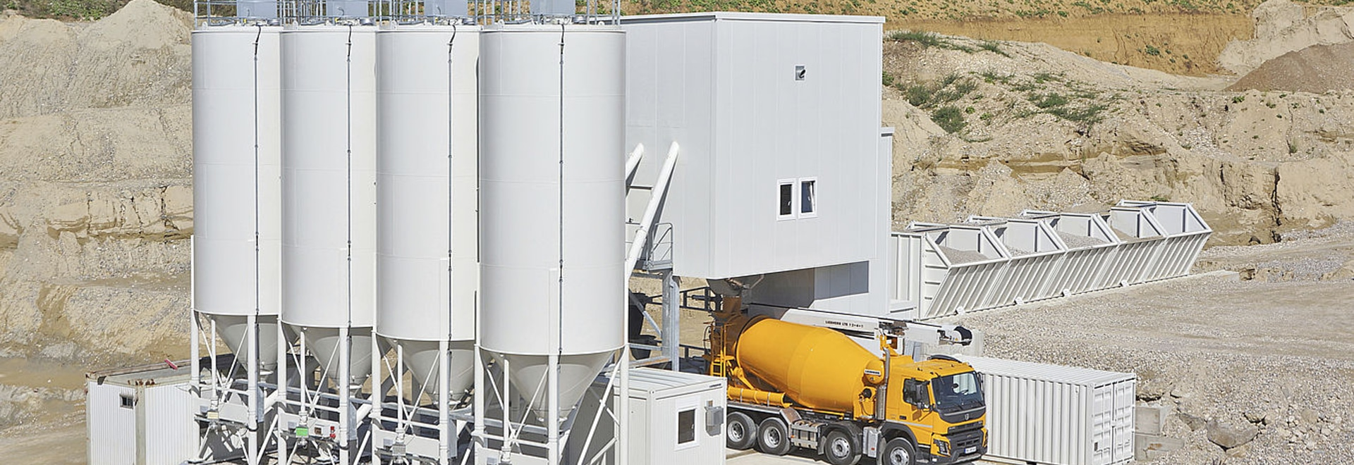 Liebherr Betomix mixing plant:  unsurpassed flexibility in use worldwide