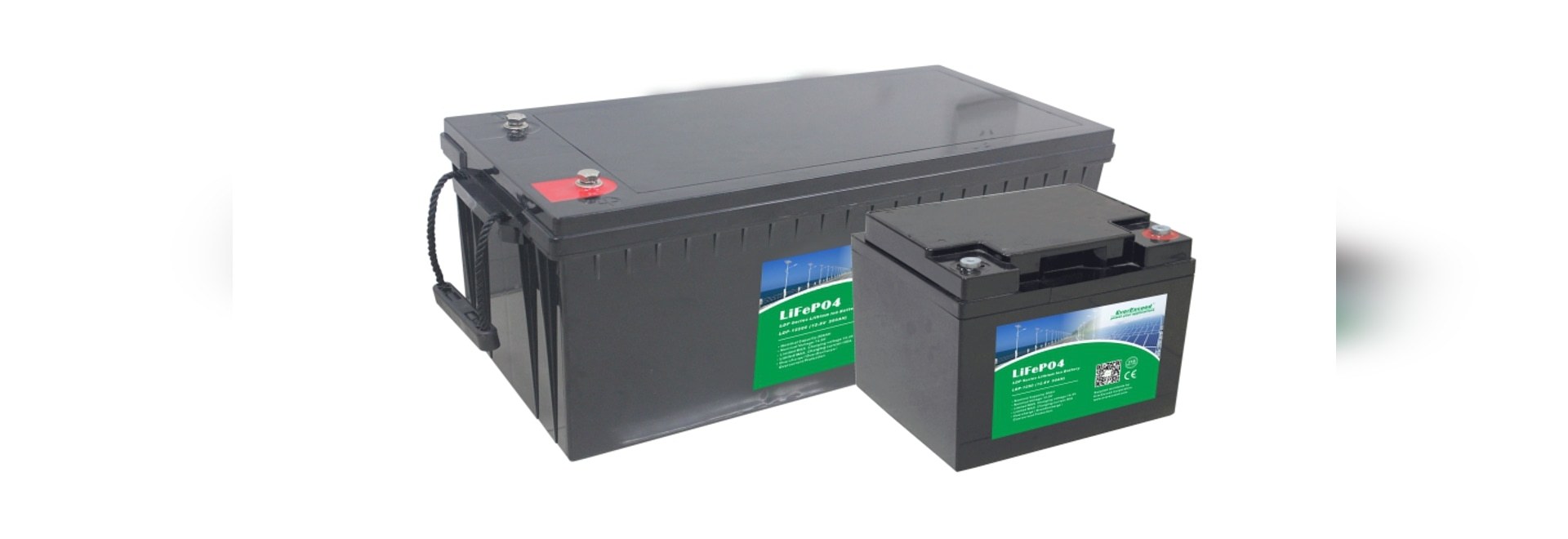 LiFePO4 battery / Lithium battery / deep cycle / CE / for back up power