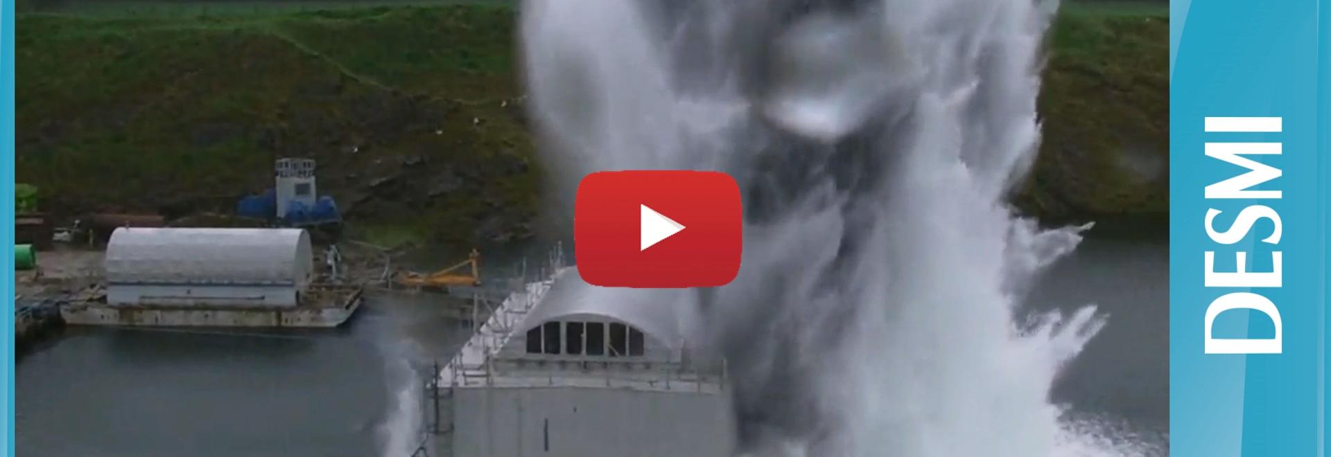 Live Shock Test of DESMI Pumps