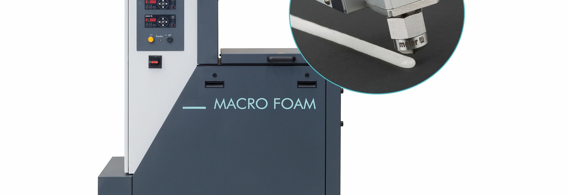 MACRO FOAM: MELTING, FOAMING AND PUMPING OF HOT MELT AND PUR ADHESIVES