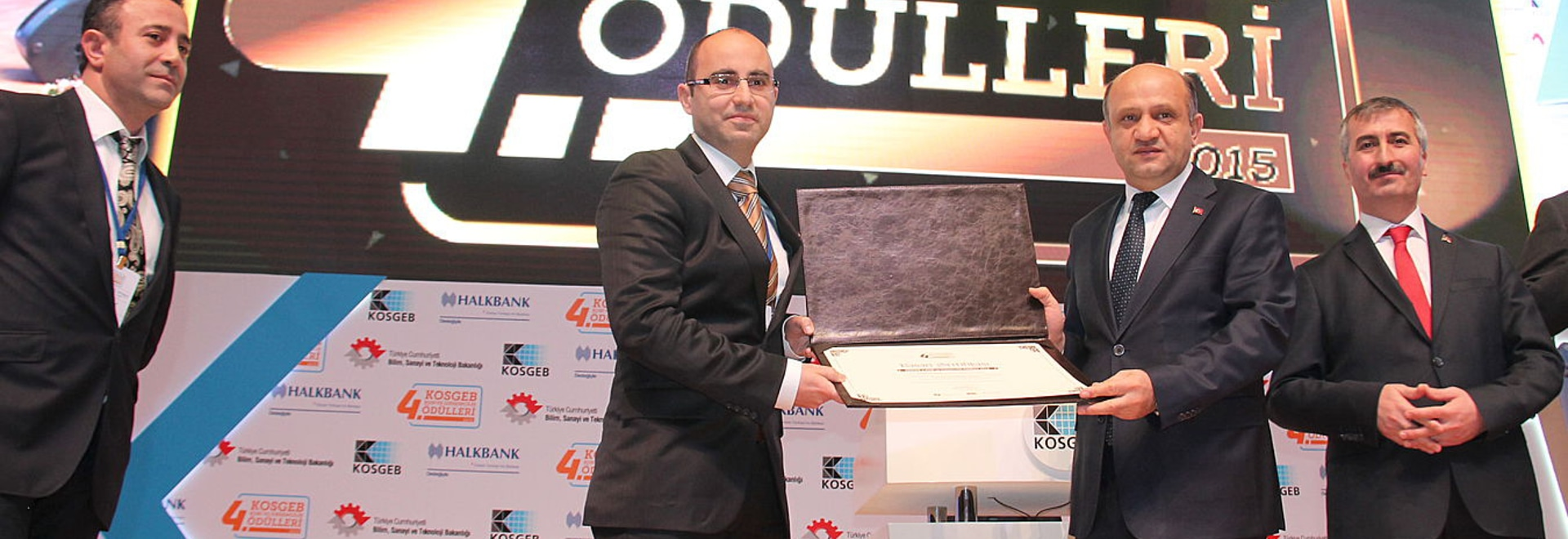 Makersan has been awarded as most innovative SME by turkish ministry of economy