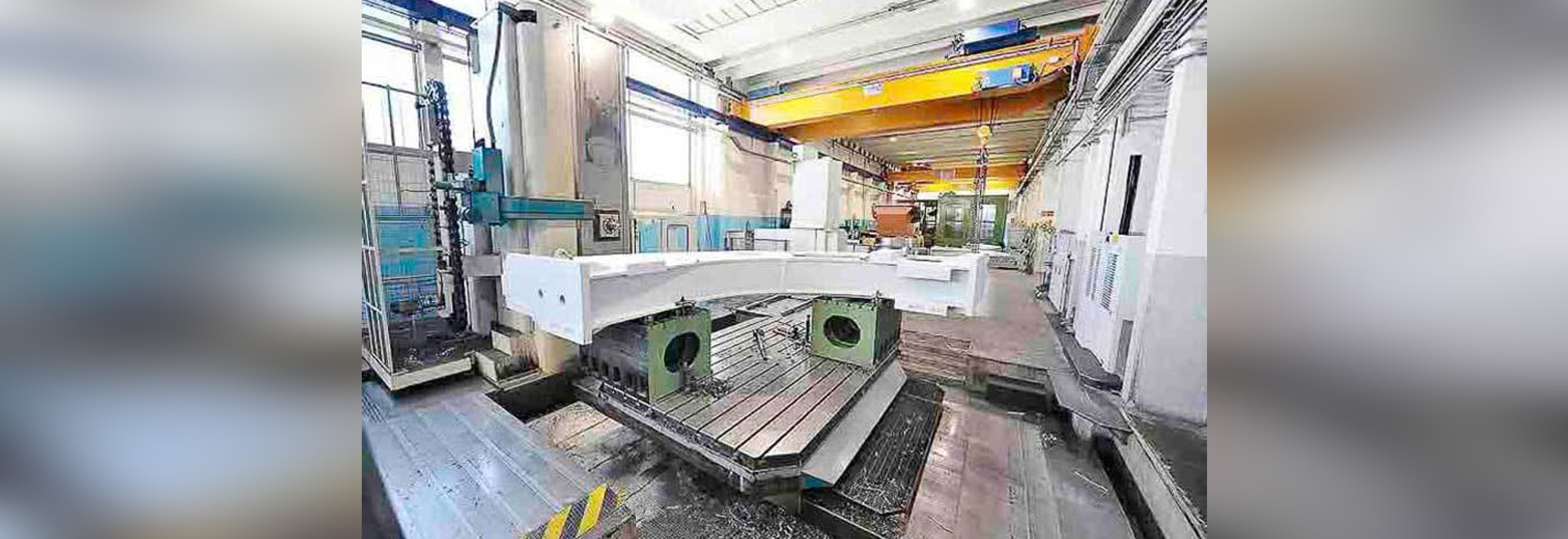 Mechanical machining of erector segments for a TBM (Tunnel Boring Machines)