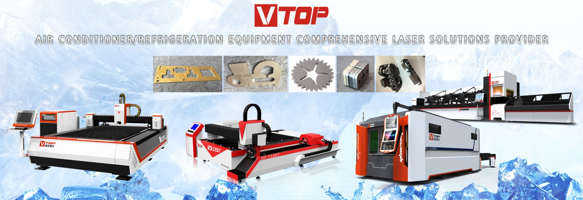 Metal Tube & Pipe Fiber Laser Cutter For Furniture  / Office Supplies