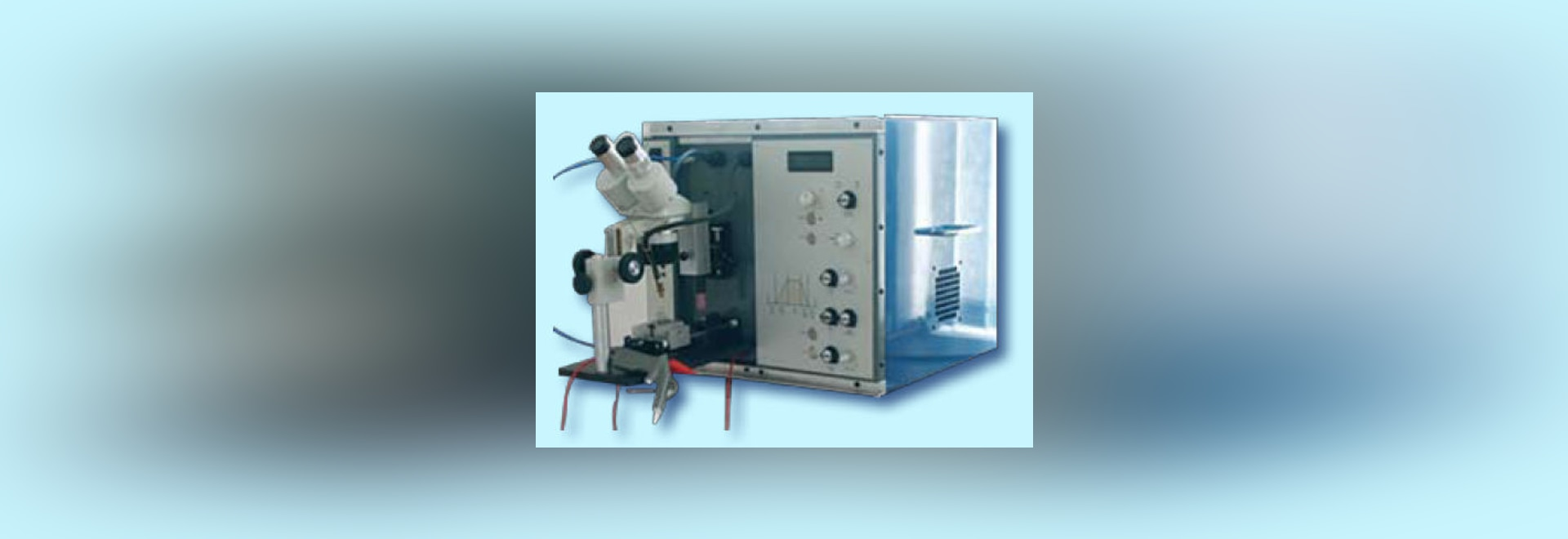 NEW: automatic welding machine by Temperature Technology Ltd