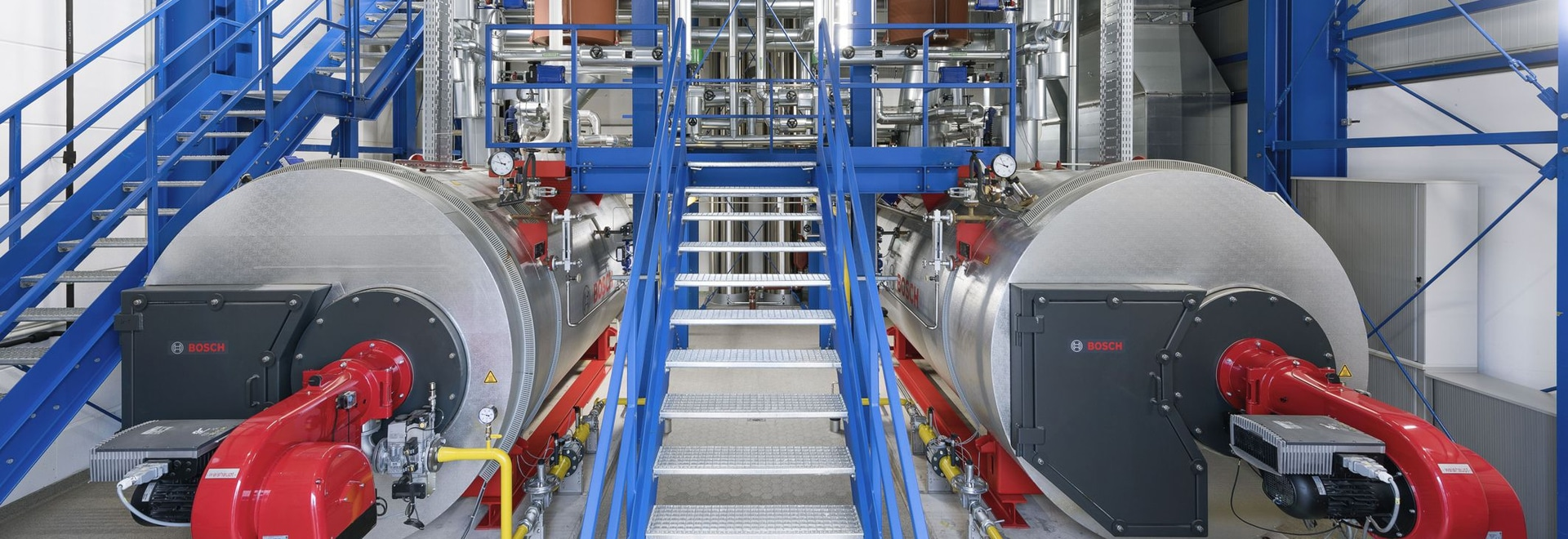 New Bosch boiler system for herbal medicines from Bionorica