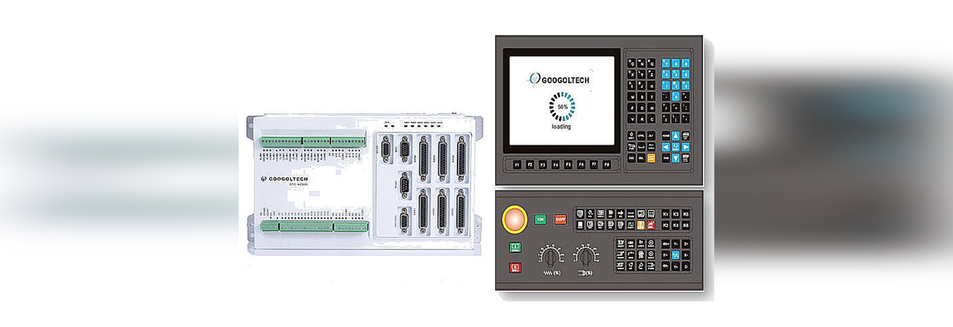 NEW ! High performance CNC control system for 3-axis CNC milling-drilling machine