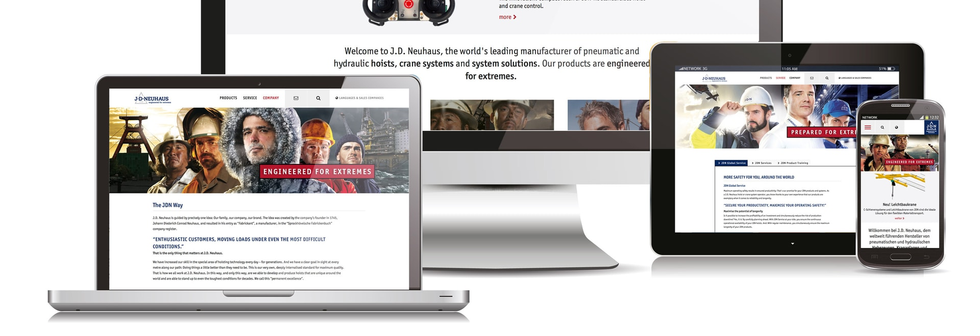 New J D Neuhaus Group Website