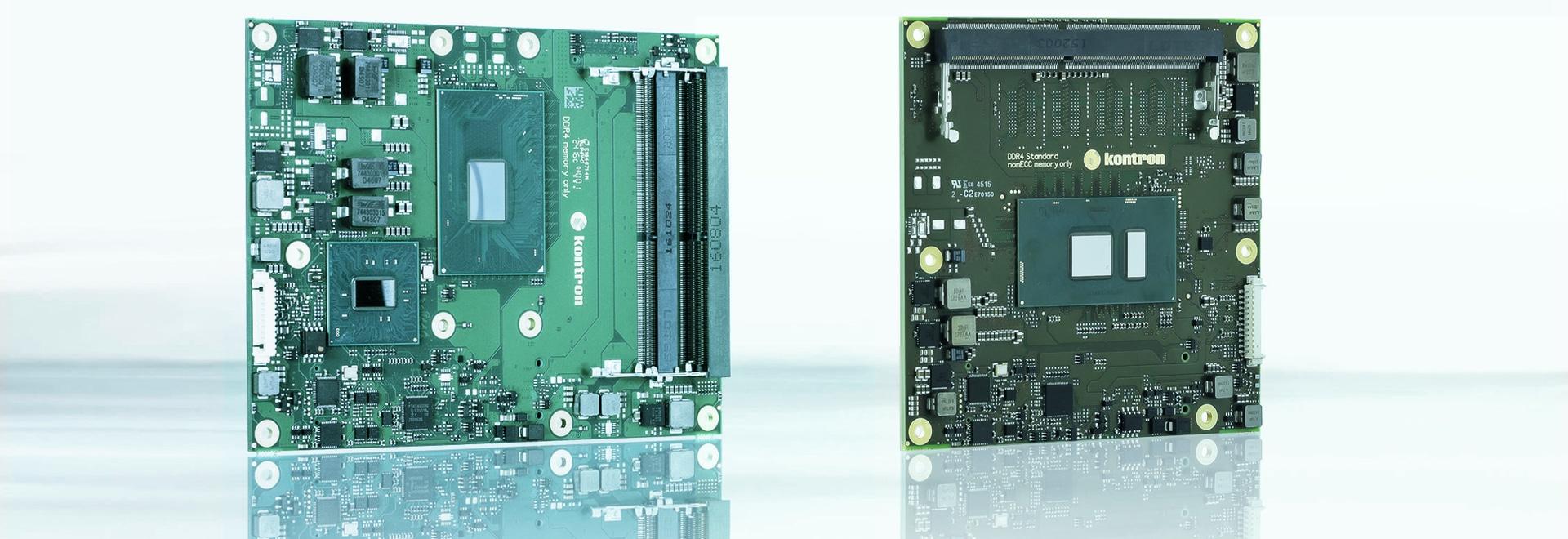 New Kontron COM Express Modules Featuring Latest Generation Intel® Processors