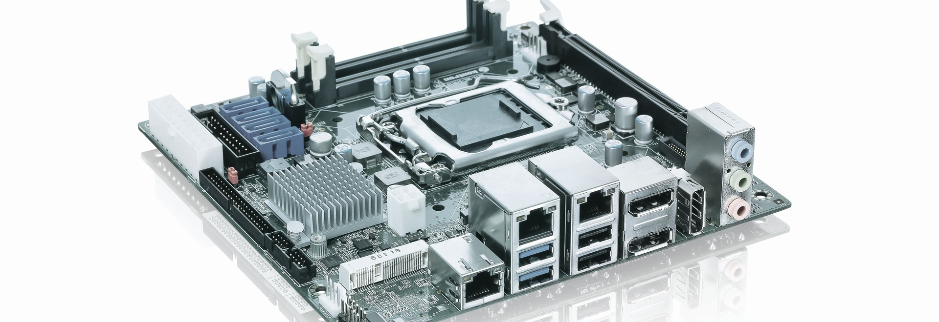 New Kontron Embedded mITX Desktop Motherboard - extended features and higher performance in mini format