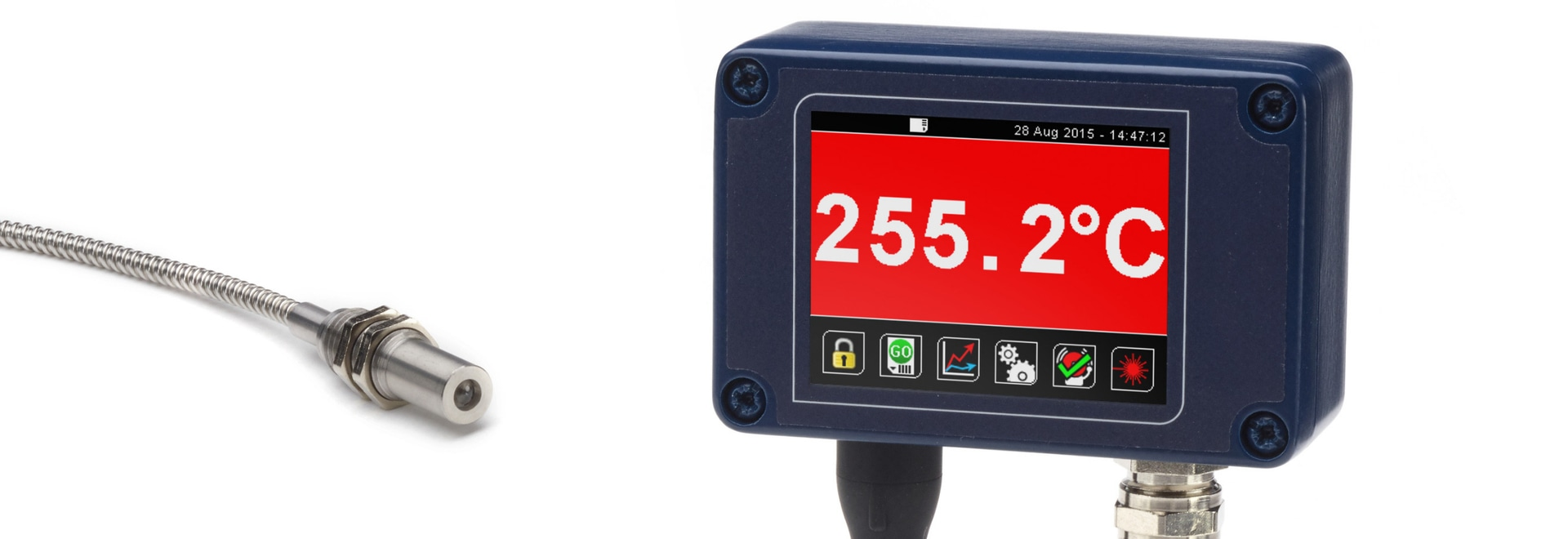 New Pyrometer for High-Temperature Applications and Metals