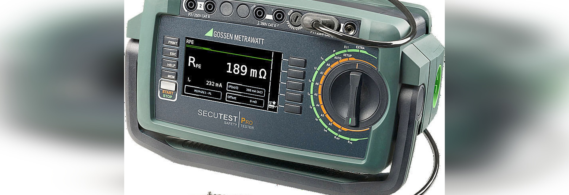 New SECUTEST BASE (10) & PRO: Safety tester for electrical devices, medical devices and welding units
