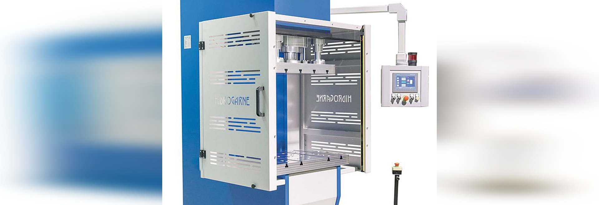 New series of hydraulic presses HIDROGARNE for high production in stamping, die-cutting and deep-drawing
