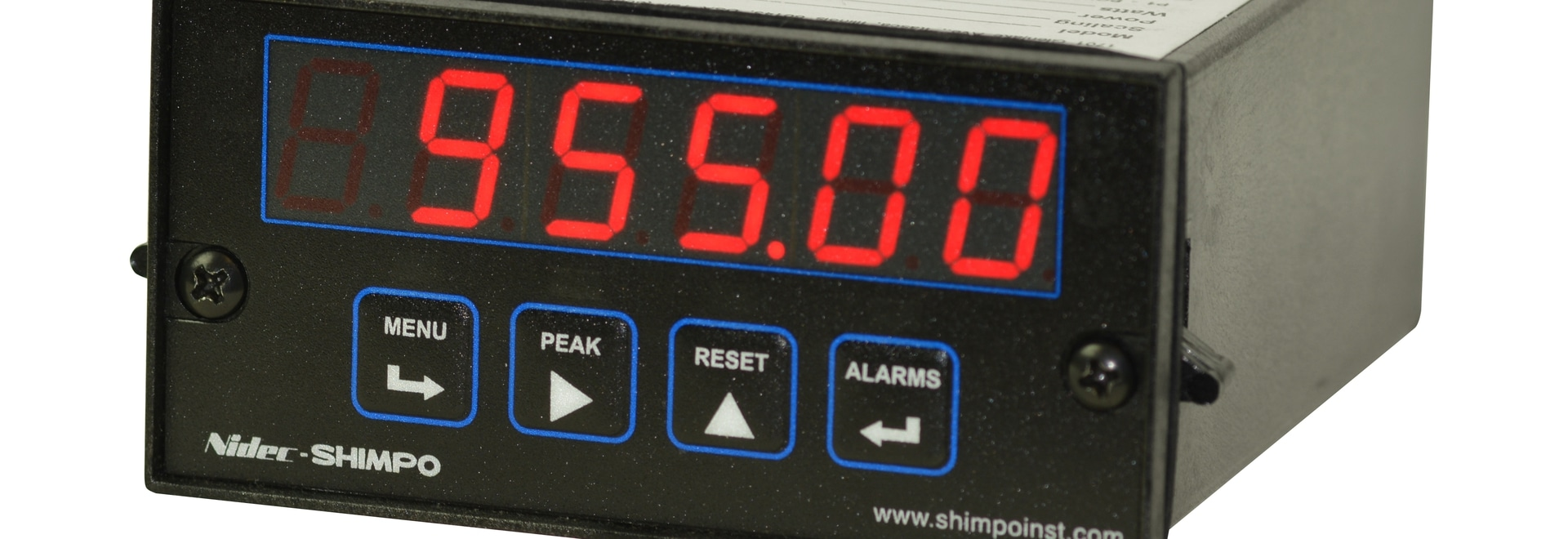 NEW SHIMPO PM Process Panel Meters