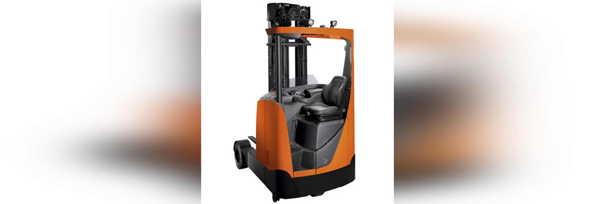 NEW: Side Facing Seated Position Reach Truck By TOYOTA Material Handling
