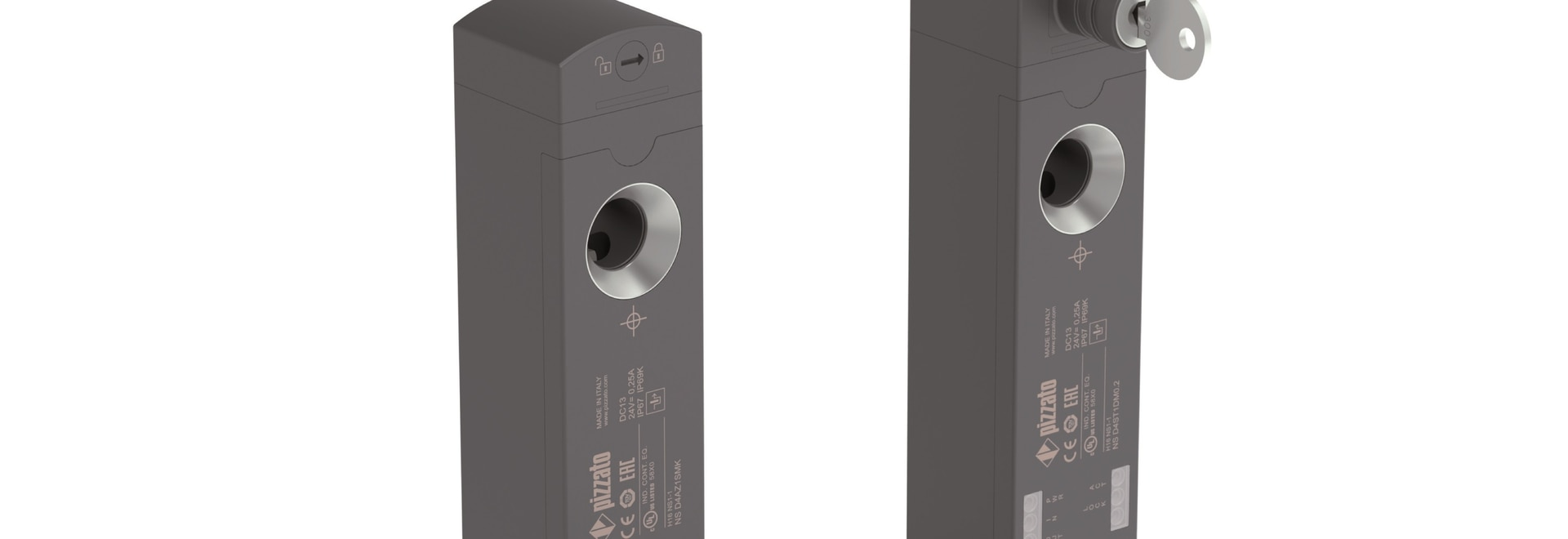NS series safety switches with solenoid and RFID technology