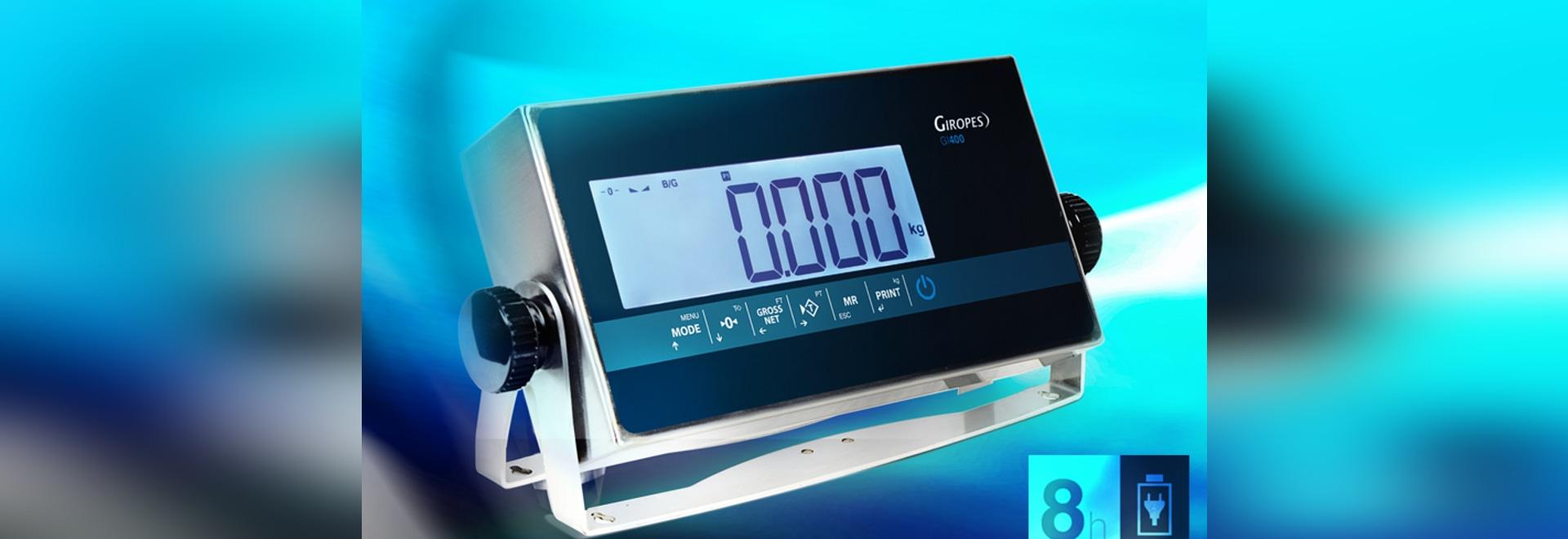 Nuevo indicador GI400 LCD BAT LI ION