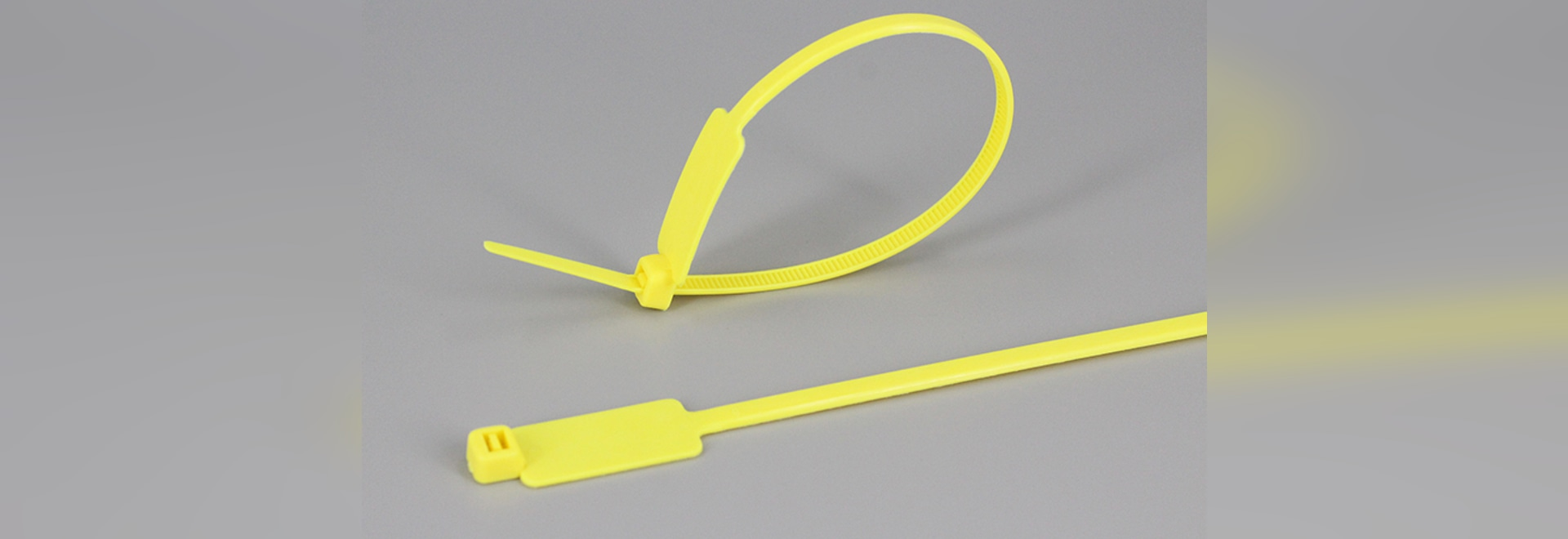 Flag cable tie / Identification ties and plates for marking cable ...