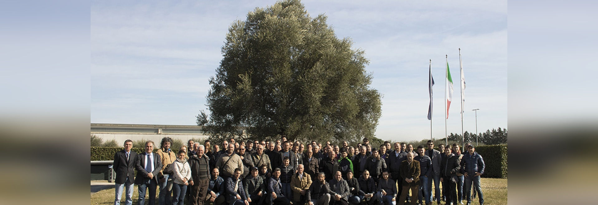 THE OLIVE GROWERS FROM CALABRIA VISIT THE PIERALISI GROUP
