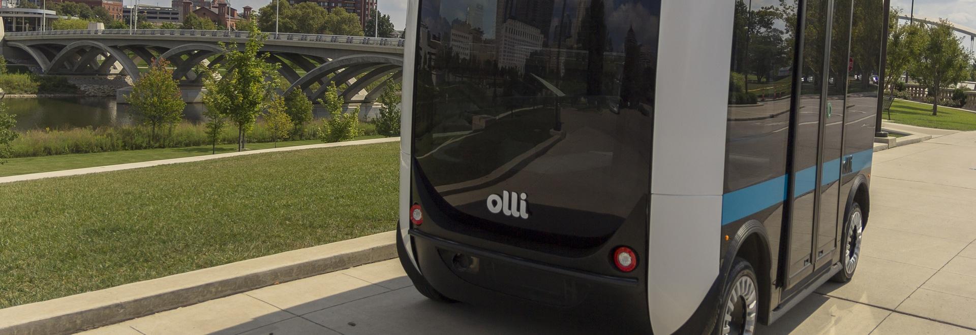 Olli, a 3D printed autonomous shuttle debuts at Sacramento State University