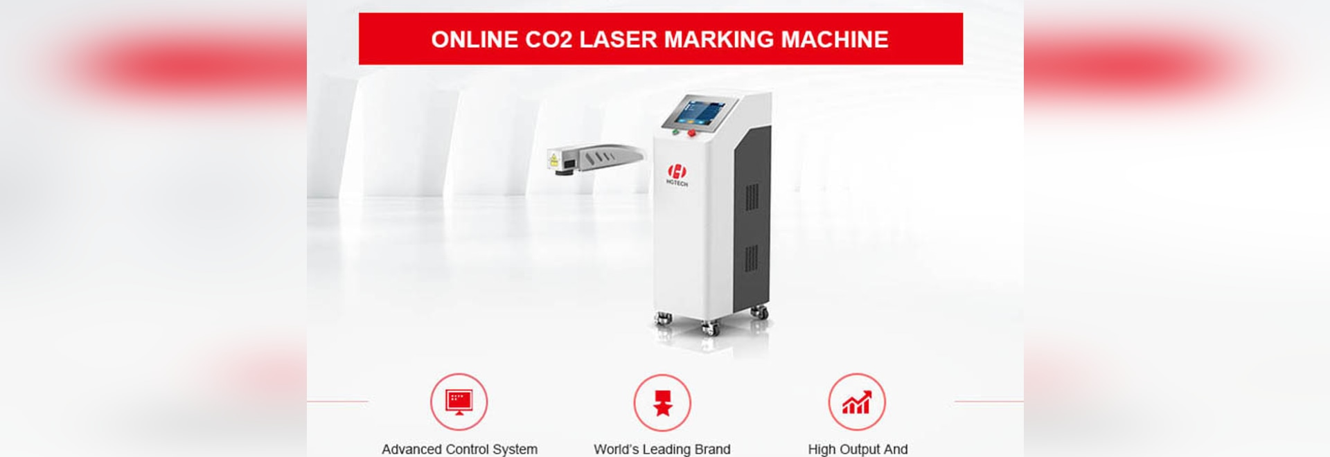 Online CO2 Laser Marking Machine