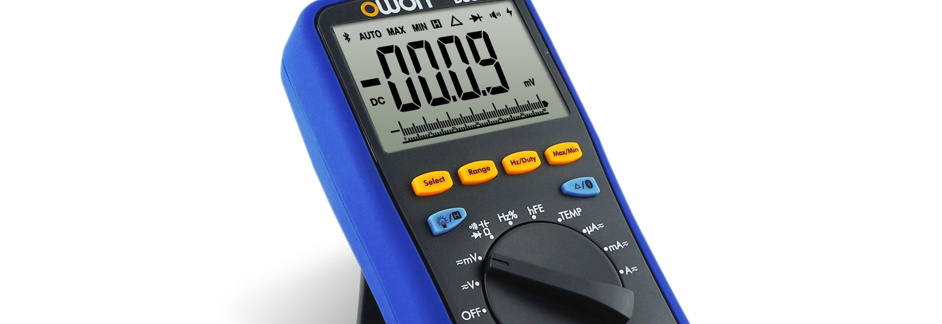 OWON Bluetooth Smart Multimeter with Offline Record Function