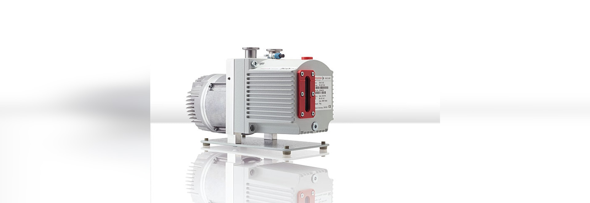 Pfeiffer Vacuum presents its New Duo 3 DC-type rotary vane pump with 24 volt DC