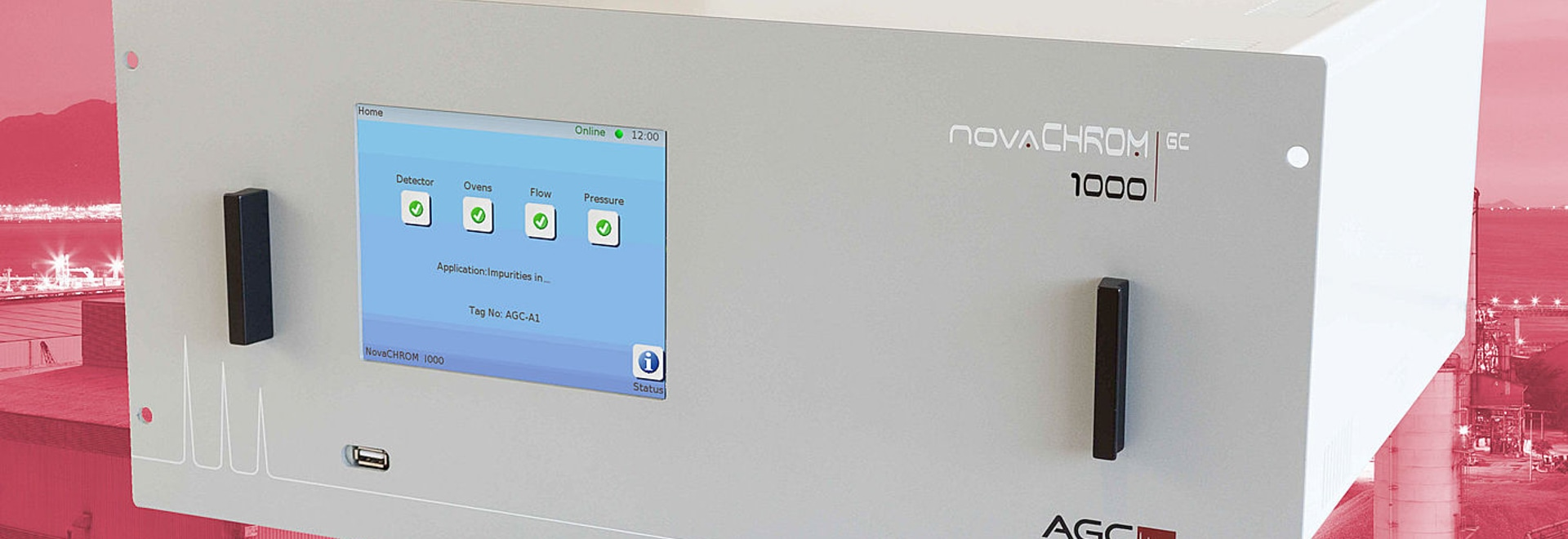 Powerful trace gas analysis with peace of mind using the new AGC NovaCHROM 1000 DID Gas Chromatograph