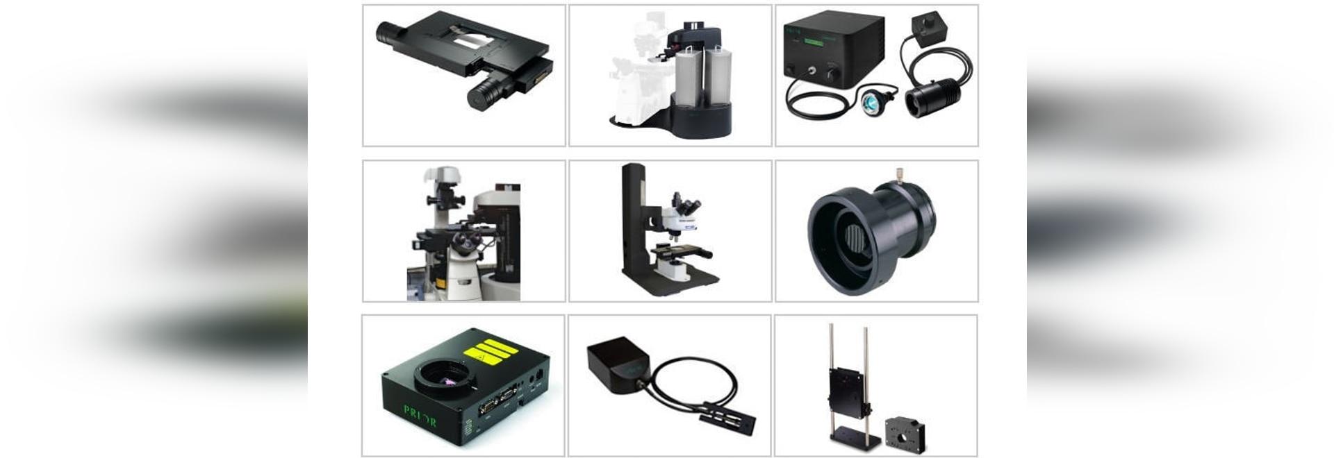 Prior Scientific announces exhibits at two Major Microscopy shows