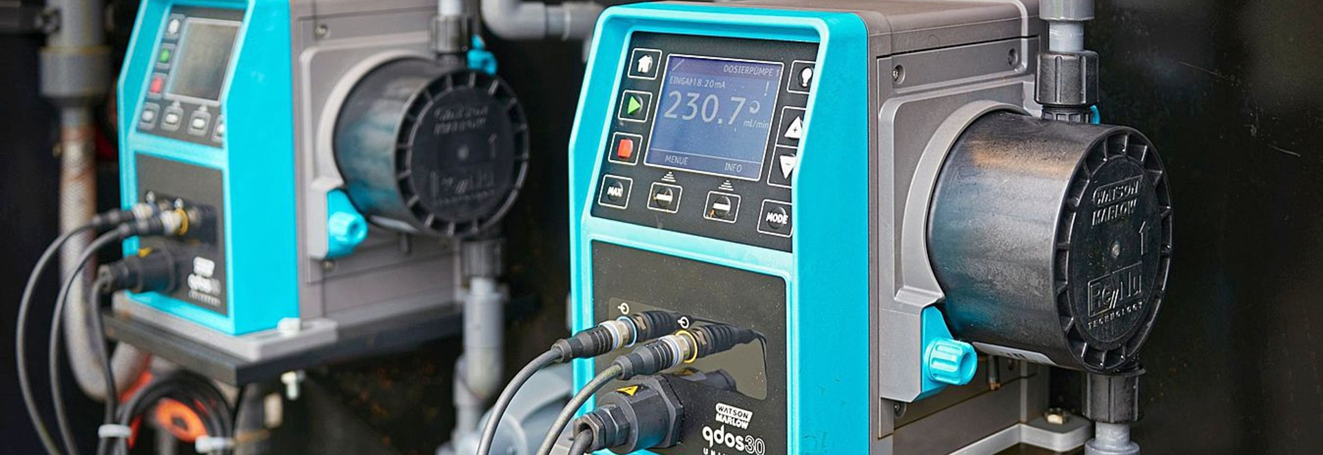 Qdos pump technology cuts maintenance time from 1.5 hours to just 5 minutes at effluent treatment plant