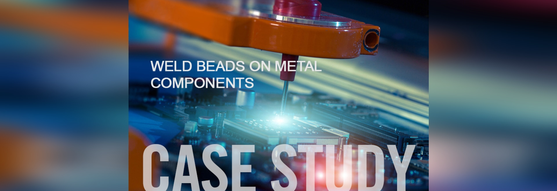 QuellTech Case Study Weld Beads on Metal Components