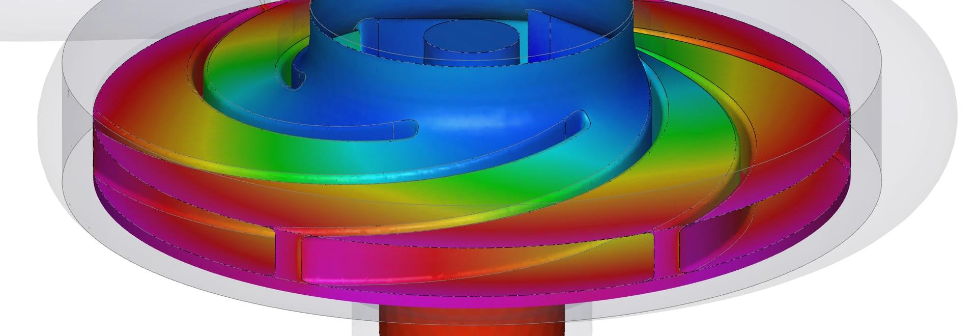 Radial Pump CFD-Simulation
