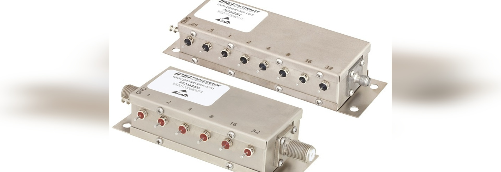 Relay Controlled Programmable Attenuator Series Launches And Ships Rf Switch Is Stocked The Same Day By Pasternack