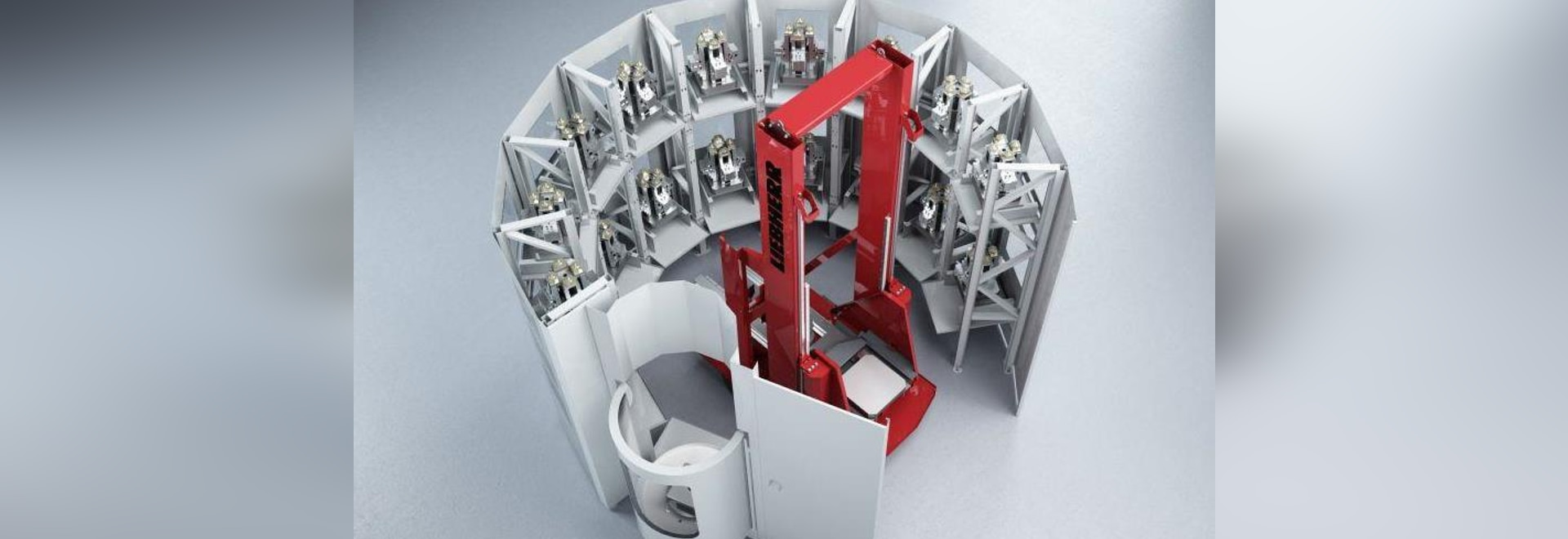 Rotary Loading System Boosts Machine Utilization