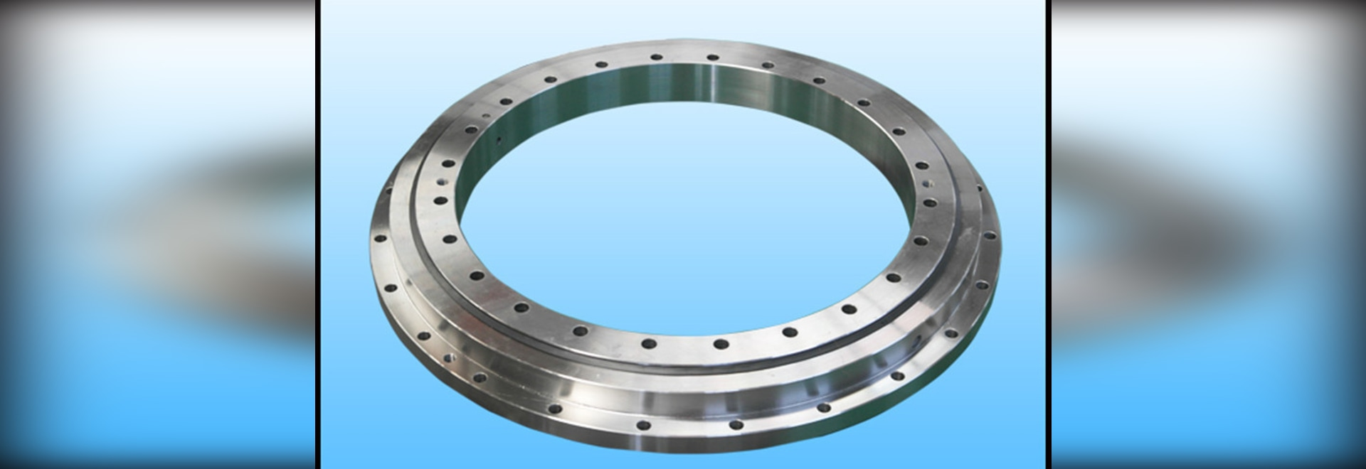 Rotate flexibly slewing bearing with ungear which widely used in canning machinery