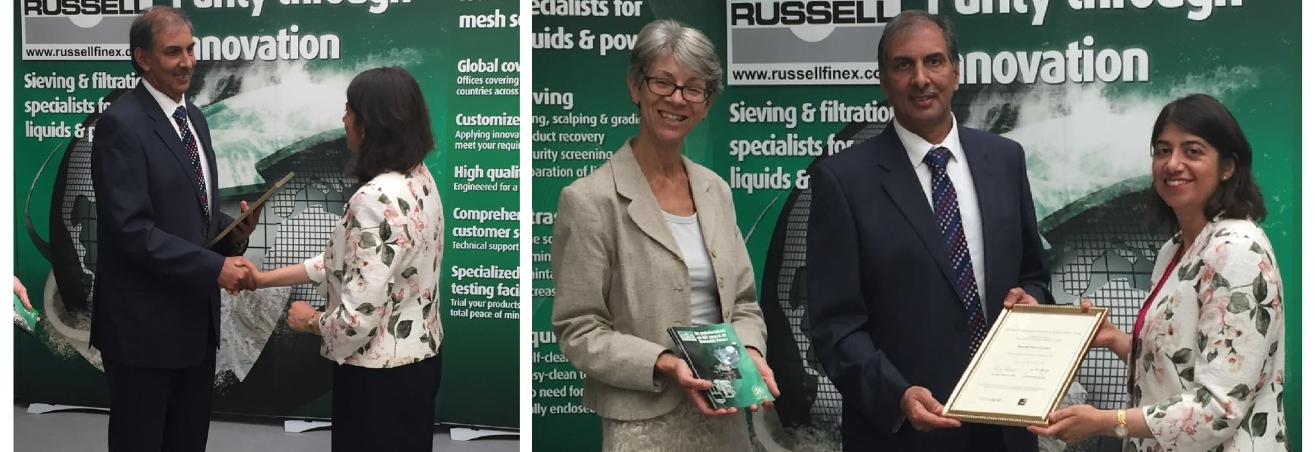 Russell Finex wins 2016 Responsible Business Award