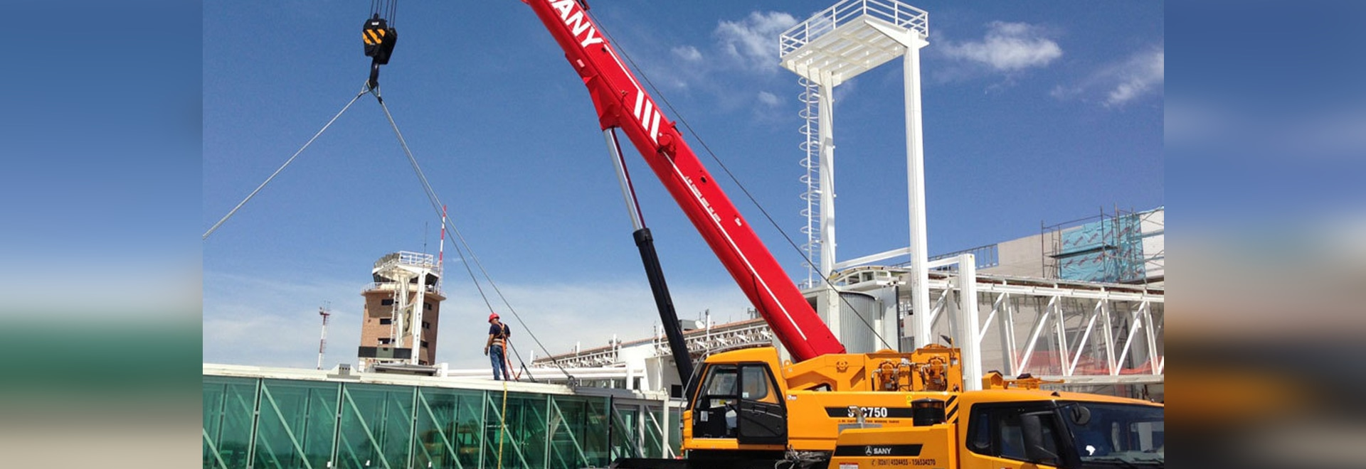 SANY STC750 TRUCK CRANE IN ARGENTINA