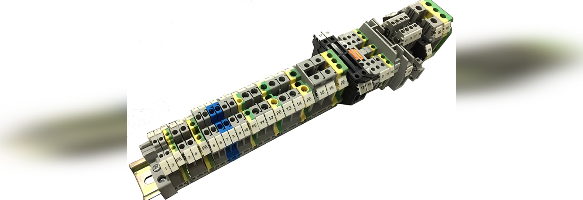 Screw Clamping Din Rail Wire Terminal Block Shanghai China Phone Wiring