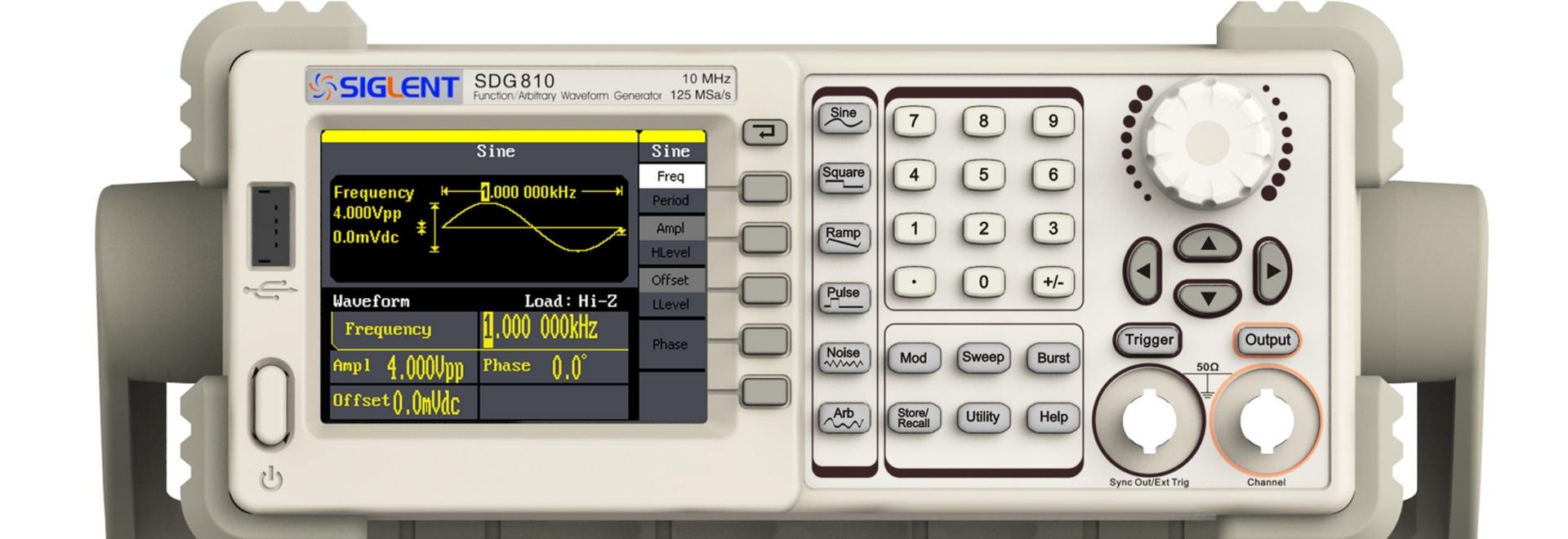 Sdg800 Series Function Arbitrary Waveform Generators Shenzhen