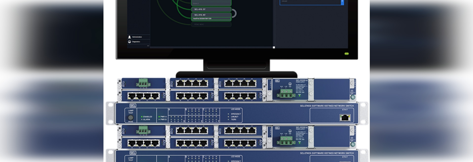 SEL completes successful on-site testing of first substation software-defined network