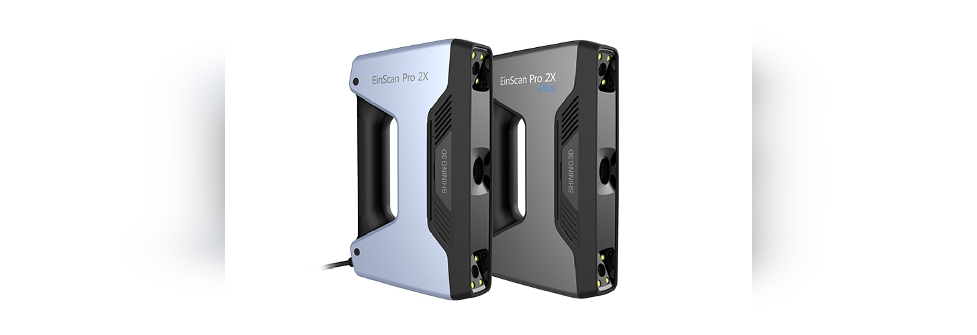 SHINING 3D Releases EinScan Pro 2X & 2X Plus Multifunctional Handheld 3D Scanner at Formnext 2018