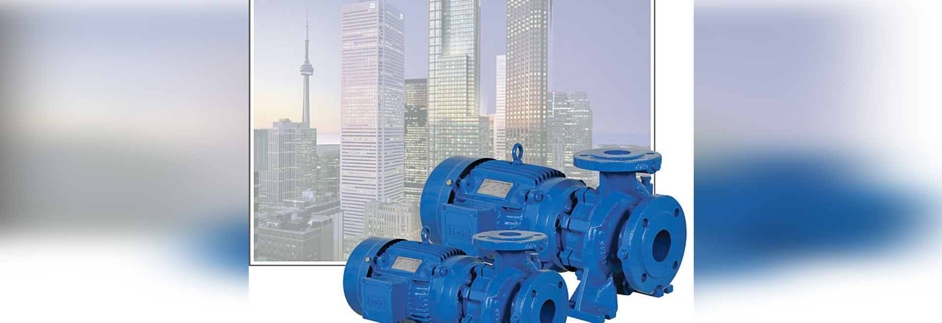 Single-stage end-suction pumps LES