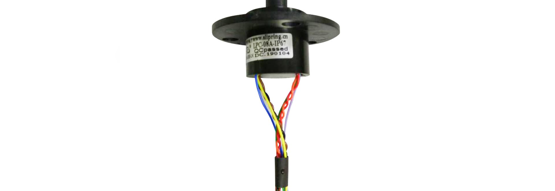 Small Capsule Slip Ring with High Working Speed
