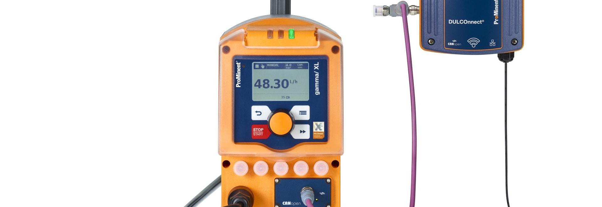 The solenoid diaphragm metering pump gamma/ XL