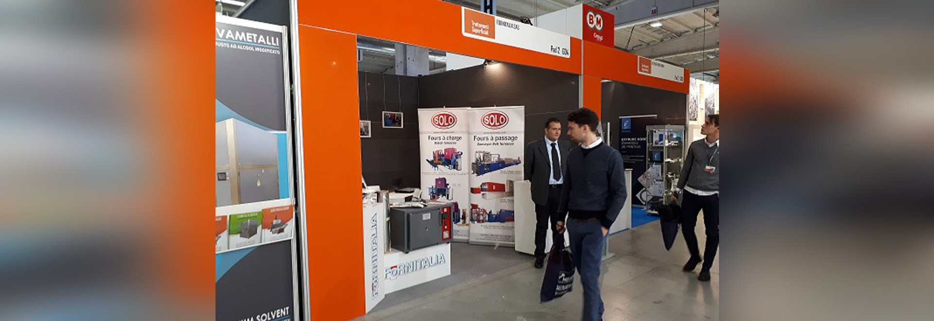 SOLO Swiss participation at the exhibition MECSPE 2018, 22-24 March, Parma, Italy