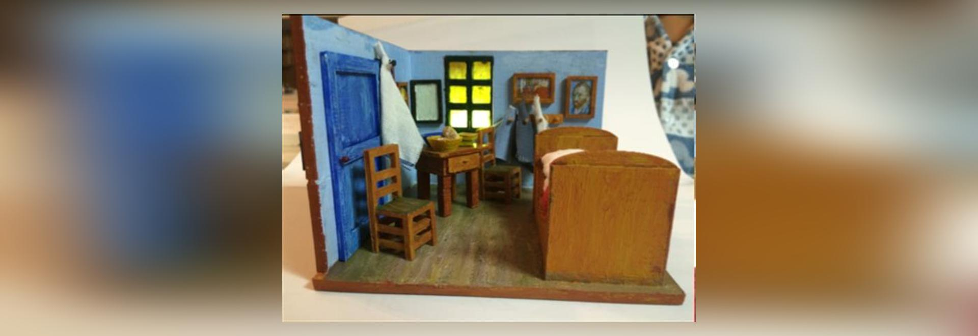 south korean father and son replicate van gogh's bedroom in arles