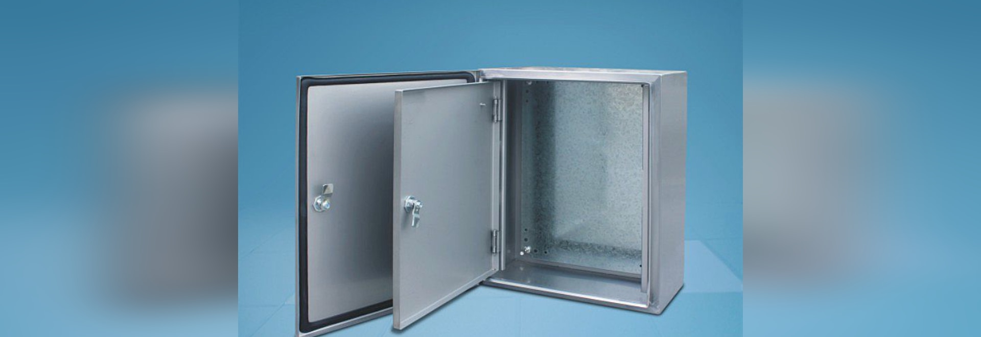 Stainless steel box with inner door & Stainless steel box with inner door - ZHEJIANG TIANQI ELECTRIC CO.LTD