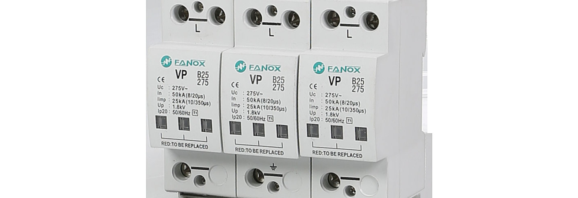 Surge Protection Relays FANOX ELECTRONIC - Protection relays and circuit breakers