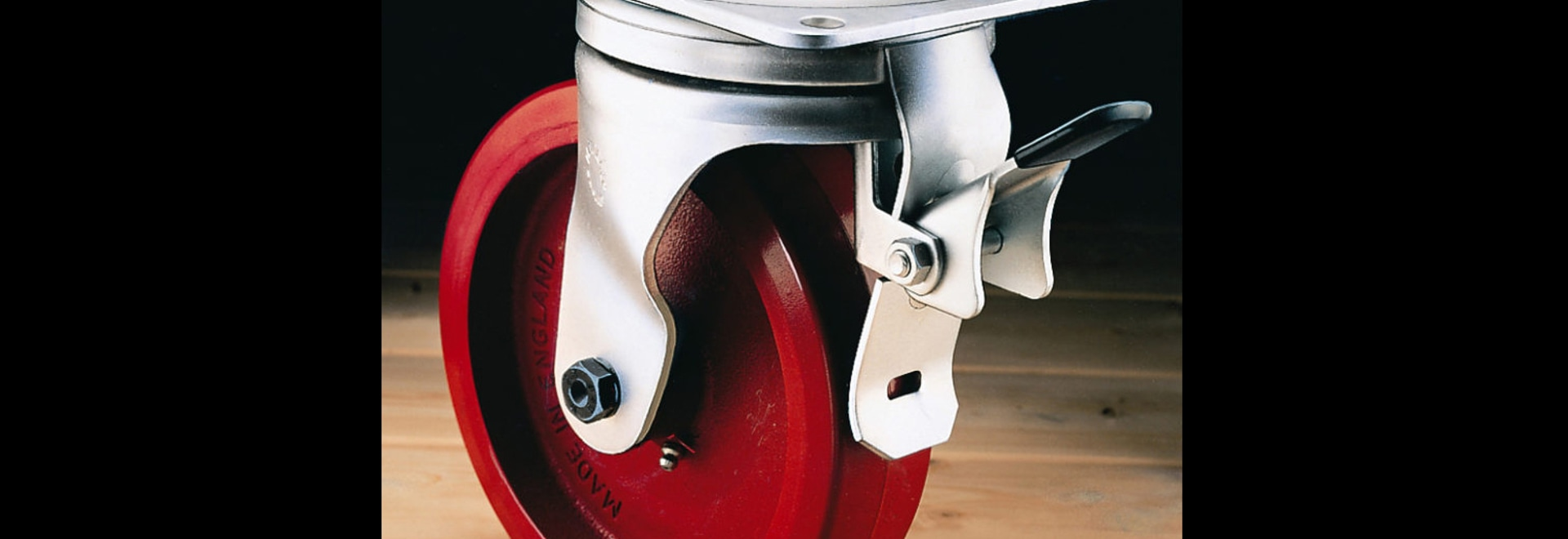 Swivel Caster Feature locking swivel and wheel
